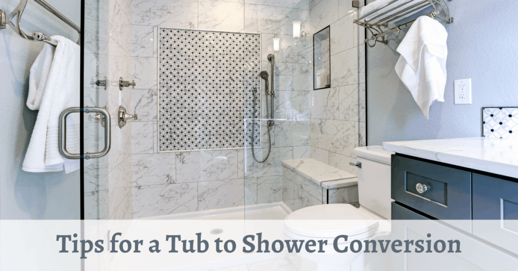 Tips for a Tub to Shower Conversion